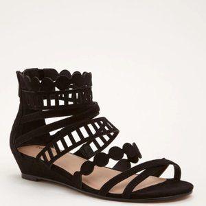 Torrid | Laser Cut Gladiator Strappy Sandals